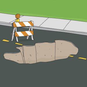 potholes policies